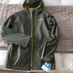 Other - Boys Columbia Rain Jacket